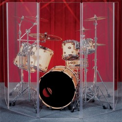 """CLEARSONIC Drum Shield 168"""" Wide X 48"""" High, 7-Section CSP (Old A4-7)"""