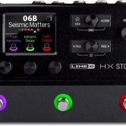 Line 6 HX Stomp Compact Professional Guitar Processor