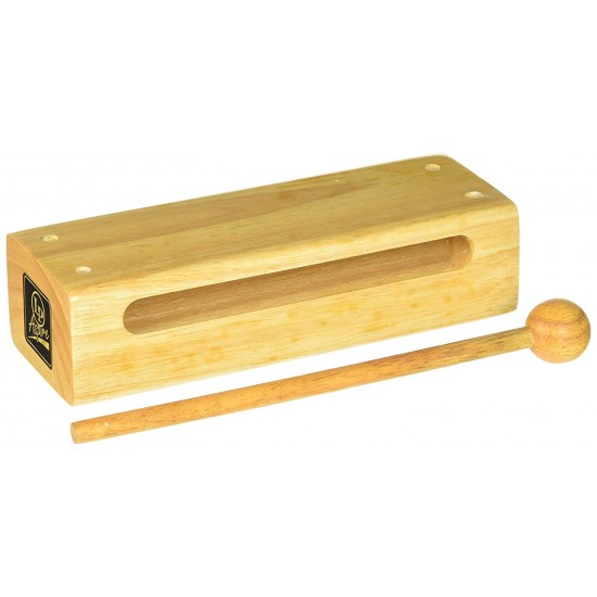 Latin Percussions Aspire Wood Block With Striker, Large