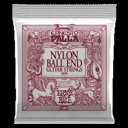 Ernie Ball Ernesto Palla Black & Gold Ball-End Nylon Classical Guitar Strings - Medium Tension