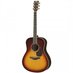 Yamaha LL16 ARE- All Solid Acoustic Guitar w/ Pickup (Brown Sunburst)