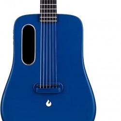 Lava ME2 Freeboost Semi Acoustic Guitar-Blue