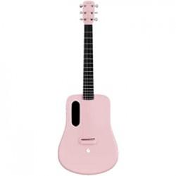 Lava ME2 Freeboost Semi Acoustic Guitar-Pink