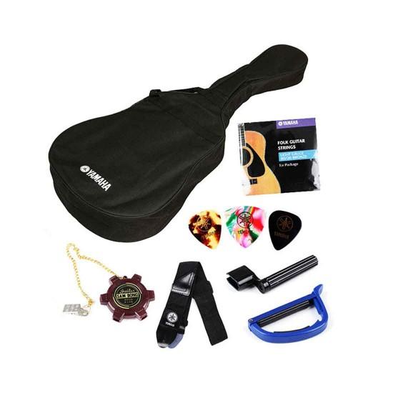 Yamaha F310P Acoustic Guitar Package - Tobacco Brown Sunburst