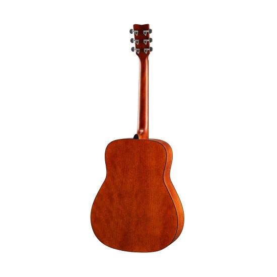 Yamaha FG800 Accoustic Guitar, Solid Top BSB