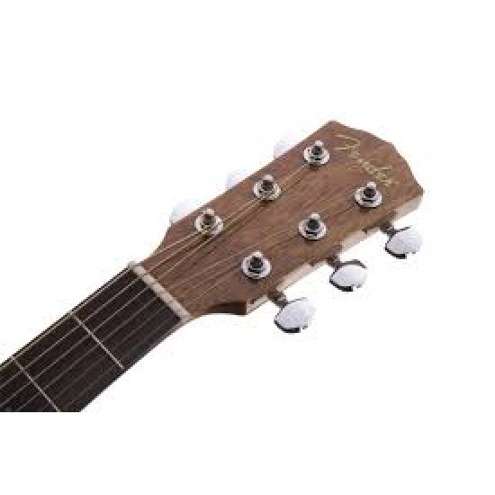 Fender 0961545021B CD-60 6 Strings Acoustic Guitar Bundle - Natural