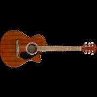 Fender FA-135CE Acoustic Guitar Concert All-Mahoga...