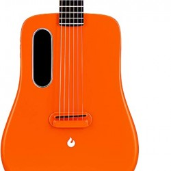 Lava ME2 Freeboost Semi Acoustic Guitar-Orange