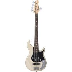 Yamaha BB425X 5-String Electric Bass - Vintage White