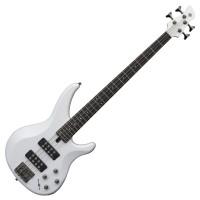 Yamaha TRBX304 4 String Electric Bass Guitar - Whi...
