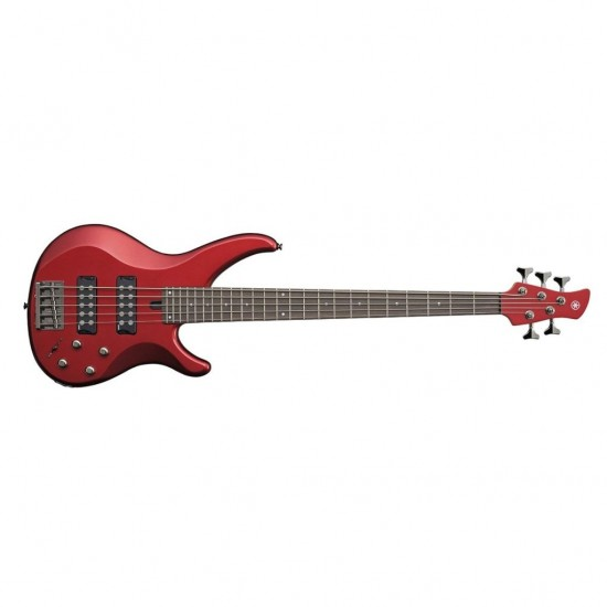 Yamaha TRBX305 5 String Electric Bass Guitar - Candy Apple Red