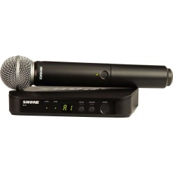 Shure-BLX24/SM58 Handheld Wireless System