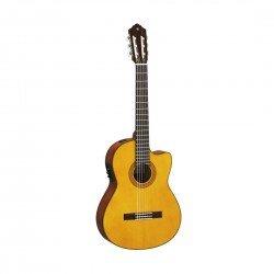 Yamaha CGX122MSC Classical Acoustic-Electric Guitar