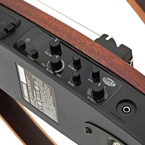Yamaha SLG200N Silent Nylon String Guitar - Tobacco Brown Sunburst