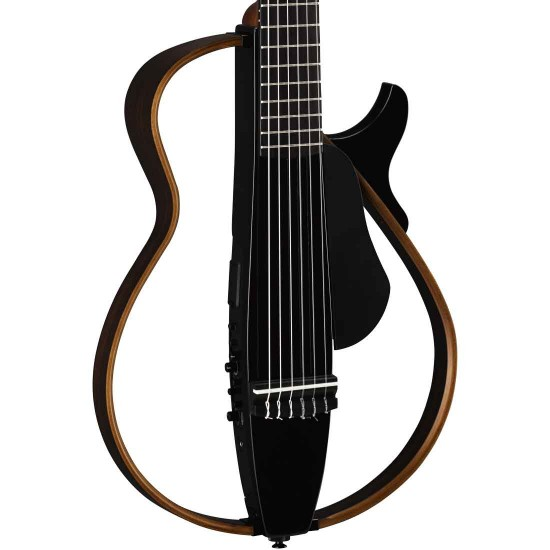 Yamaha SLG200N Silent Nylon String Guitar -  Translucent Black
