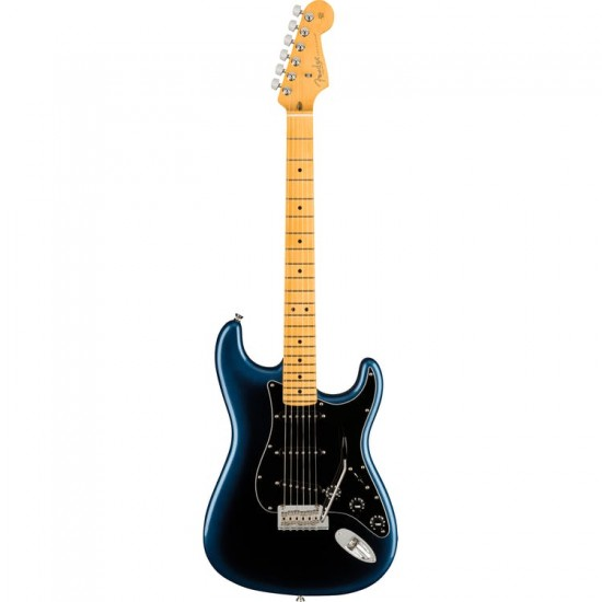 Fender American Professional II Stratocaster in Dark Night with Maple Fingerboard Includes Deluxe Molded Case