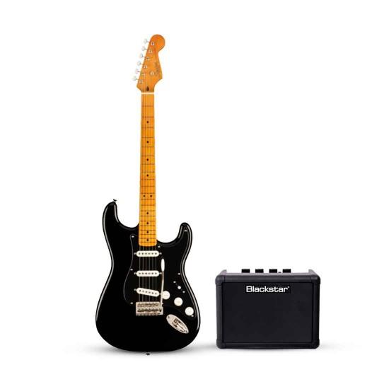 Fender 374007506 Squier FSR Classic Vibe '50s Stratocaster Bundle  Black