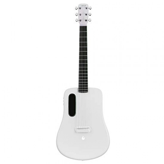 Lava ME2 Freeboost Semi Acoustic Guitar-White