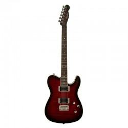Fender 0262004561 Special Edition Custom Telecaster Electric Guitar Fmt Hh In Black Cherry Burst