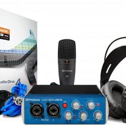 Presonus AudioBox USB 96 Studio Recording Bundle