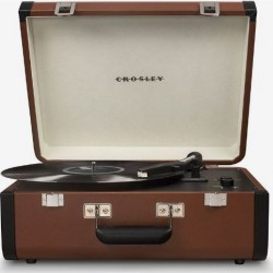 Crosley Executive Deluxe Bluetooth - Brown_x000D_