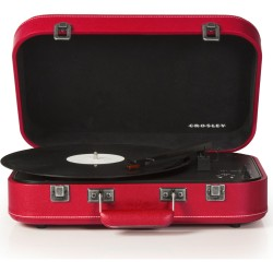 Crosley Coupe Bluetooth Turntable Red