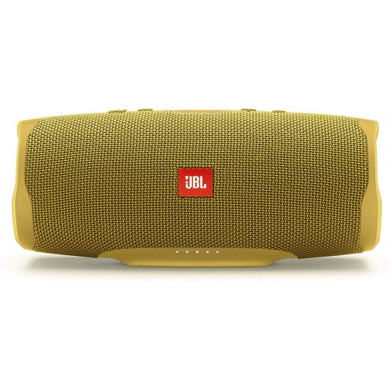 JBL Splashproof Charge 4 Portable Bluetooth Speaker with USB Charging- Yellow
