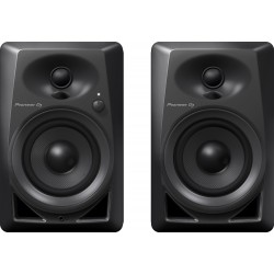 Pioneer DM-40-K 4-inch Compact Active Monitor Speaker - Black