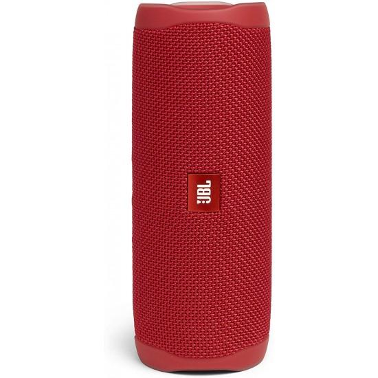 JBL Flip 5 Portable Bluetooth Speaker-Red