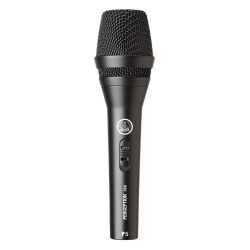 AKG P5S High-Performance Dynamic Vocal Microphone With On/Off Switch