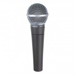 Shure-SM58 Cardioid Dynamic Vocal Microphone