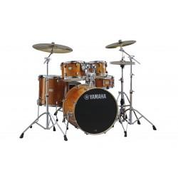 Yamaha Stage Custom Birch Drum Kit Bundle- Honey Amber