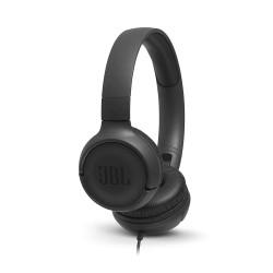 JBL T500 Wireless On-Ear Headphones with Mic - Black
