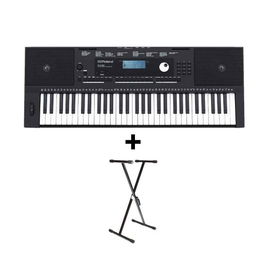 Roland E-X20 Arranger Keyboard with Free Stand