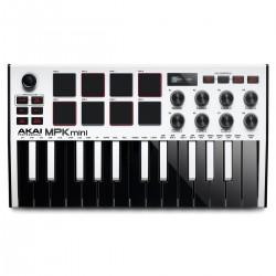 Akai Professional MPK Mini MK3 Limited Edition White 25 key Keyboard Controller