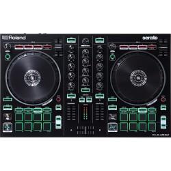Roland DJ-202 4-deck Serato DJ Controller with Drum Machine