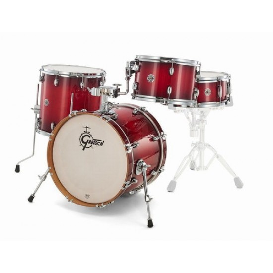 Gretsch CT1-J484-GCB Catalina Club Glose Crimson Burst Finish Hardware & Cymbals Not Included