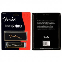 Fender® Blues Deluxe Harmonica, Key - C 0990701001