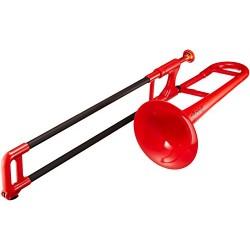 pBone Mini Plastic Trombone - Red