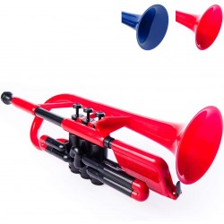 pBone pCornet Plastic Cornet- Red