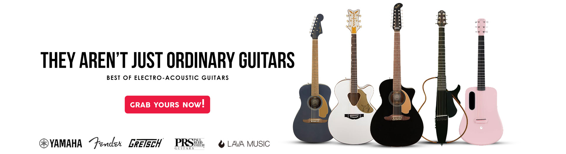 Best Electrical acousitc guitars in UAE