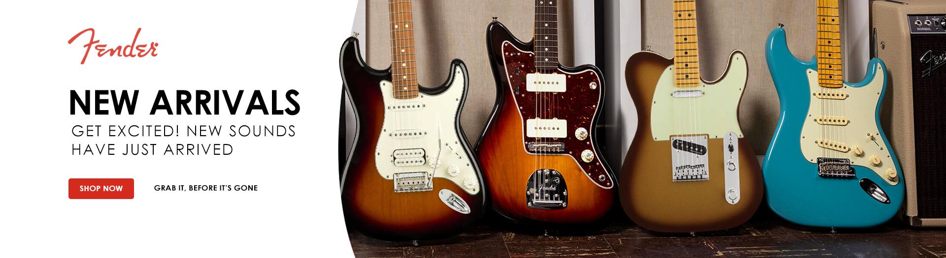 Fender Guitars in UAE